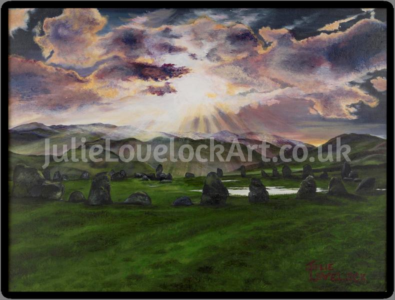 Castlerigg Stone Circle by Julie Lovelock