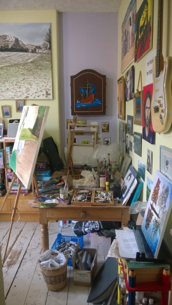 Julie's Studio in Glastonbury