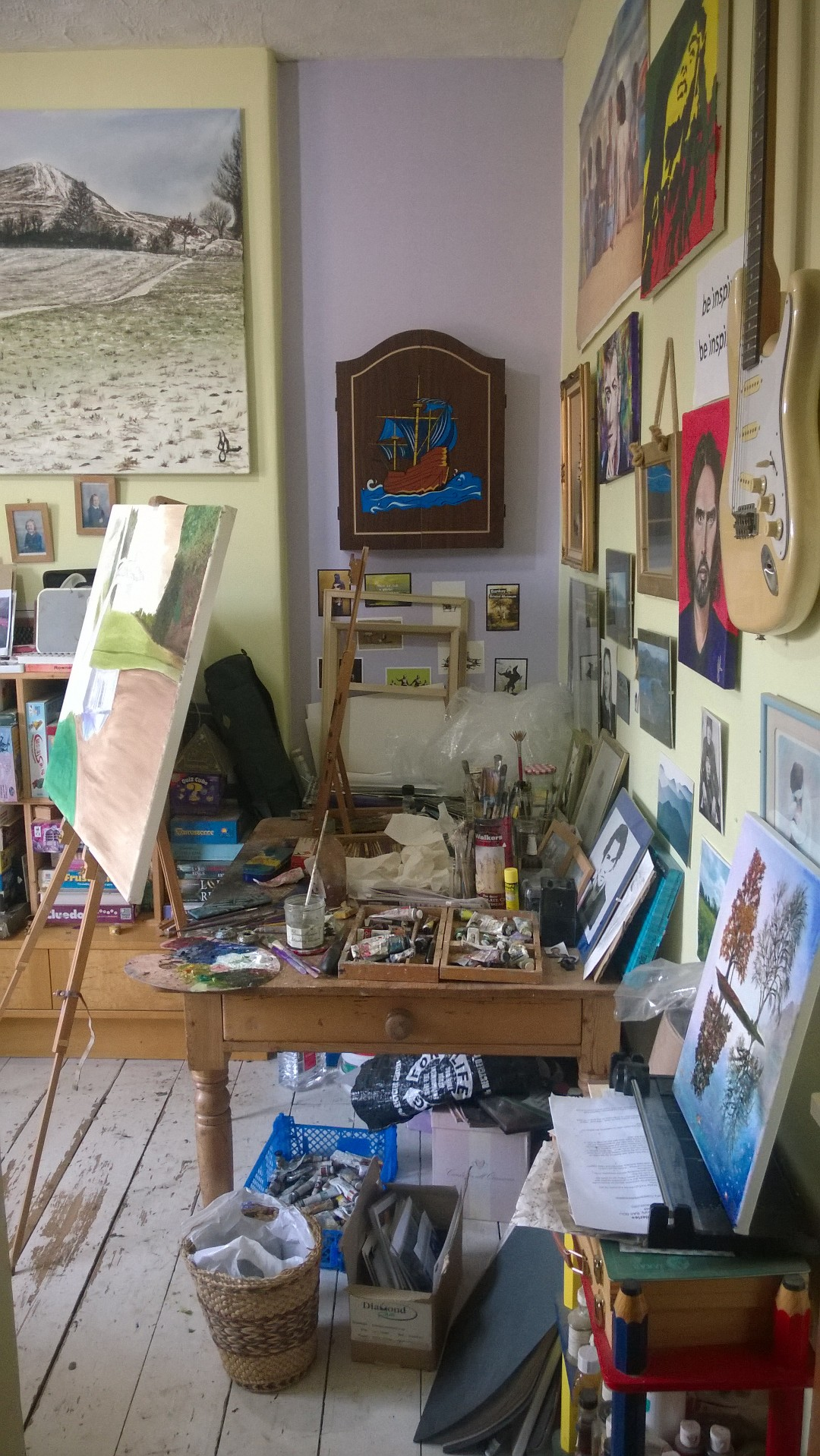 Julie's Studio in Glastonbury