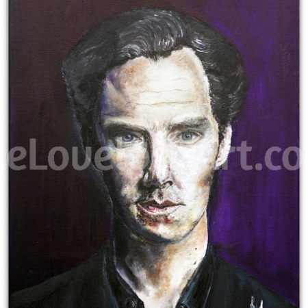 Mr Cumberbatch by Julie Lovelock