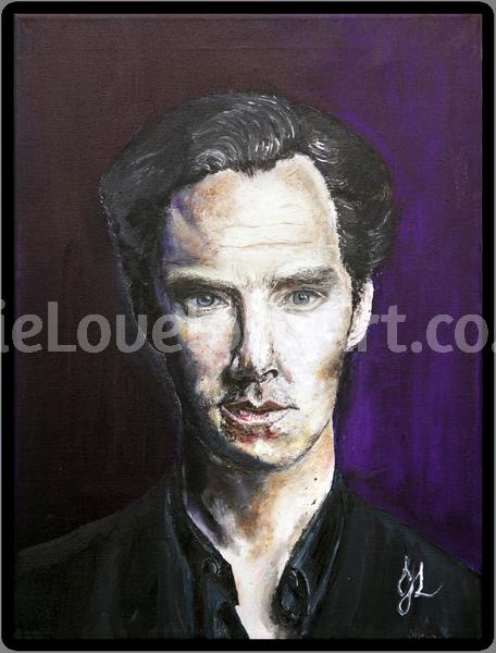 Mr Cumberbatch by Julie Lovelock