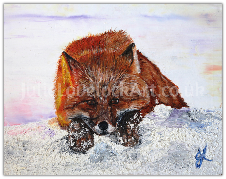 A Fox in Thought by Julie Lovelock