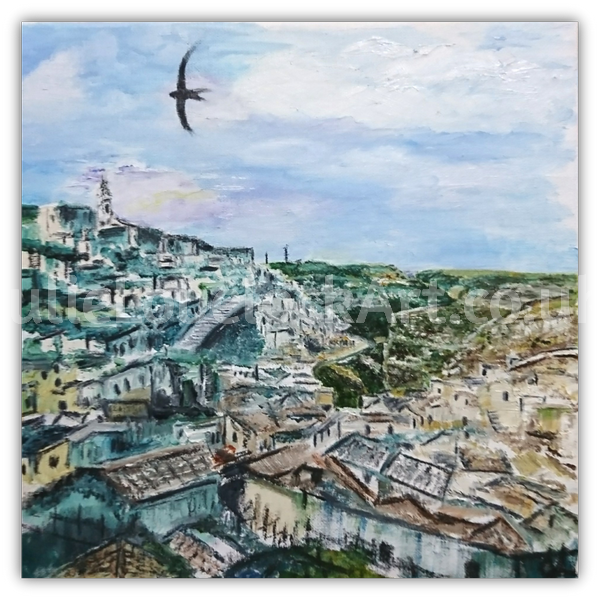 I Sassi, Matera by Julie Lovelock