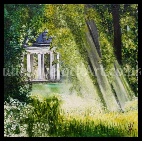 A Peaceful Spot by Julie Lovelock