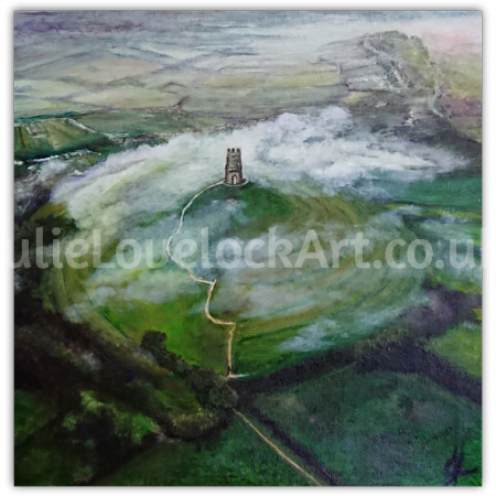 St Michael's 'Midst the Mist by Julie Lovelock