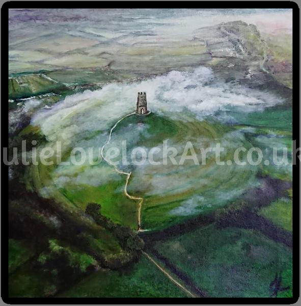 St Michael's 'Midst the Mist by Julie Lovelock